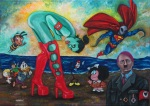 Antonio vitale, Pop Surrealismo, Pop Surrealism, low brow