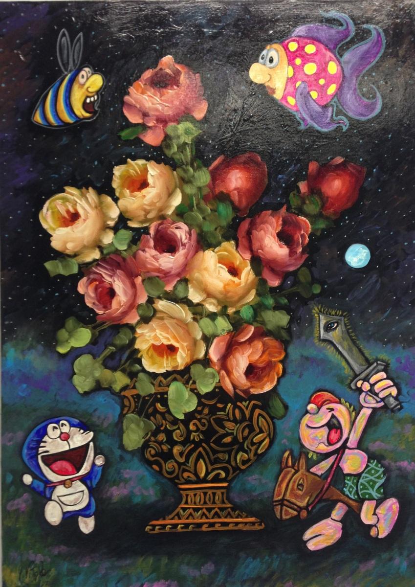 pop surrealismo Antonio Vitale